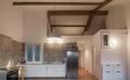 płytki podłogowe kuchenne realizacja kuchni z płytkami carpet vestige natural
