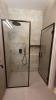 Aranżacja łazienki z płytkami Aparici Carpet Vestige Natural 50x100