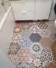 płytki hexagonalne kolorowe do łazienki