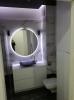płytki biały marmur do łazienki podłogowe scienne nowoczesna łazienka