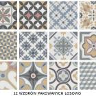 płytki patchwork 12 wzorów