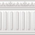 Peronda listwa na ściane 10x30 płytka biały marmur w połysku nowoczesna klasyczna łazienka kuchnia salon w białym marmurku