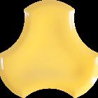 żółte płytki dekoracyjne