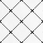 patchwork biało czarny