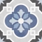 płytki patchwork szaro niebieskie