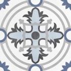 płytki w stylu patchwork niebieskie