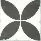 Bouquet płytka czarno biała 23x23 płytka do łazienki kuchni 23x23