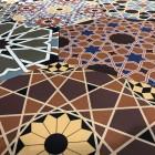 płytki heksagonalne patchwork
