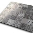 płytki patchwork 60x60 szare
