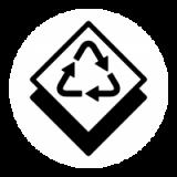 Płytki z recyklingowanych materiałów