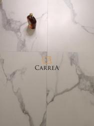 płytki podłogowe salonowe 60x60 60x120 biała carrara