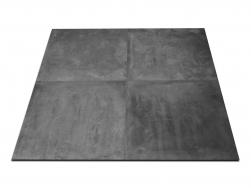 płytki czarne jak beton Icon Black 60x60 abitare