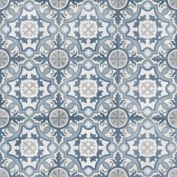 płytki niebieskie w stylu patchwork podłogowe Bondi Mirror Natural aparici
