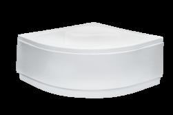besco brodzik półokrągły biały brodzik