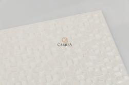 płytki imitujące mozaikę białą