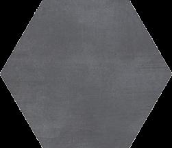 płytki scienne podłogowe hexagonalne szare