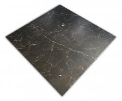 czarny gres z białą żyłką matowy 120x120 cm