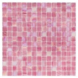Dunin rózowa mozaika na ściane mozaika do łaziennki szklana mozaika