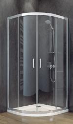 besco kabina prysznicowa półokrągła 90x90x185