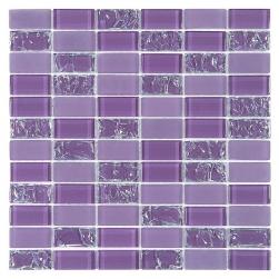 Dunin fioletowa mozaika do łazienki kuchni nowoczesna łazineka