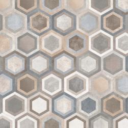 Vives płytki hexagonalne we wzory 23x26,6 płytki na podłoge ściane matowe płytki surowy beton