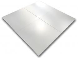 gres płytki białe matowe 60x60 do salonu i łazienki