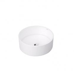 Massi umywalka nablatowa biała okrągła