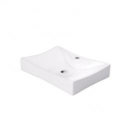 biała umywalka nablatowa massi