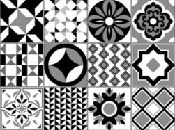 Geotiles patchowork na podłoge ściane 20x20 ceramiczne wzorki  patchwork do łazienki kuchni salonu