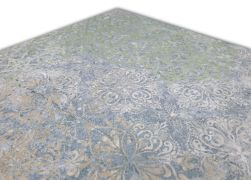 Aparici Bohemian Blue Natural 49.75x99.55 płytka gresowa zielone wzory