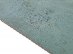 Aparici Metallic Green Natural 49.75x99.55 płytki podłogowe z rudymi akcentami