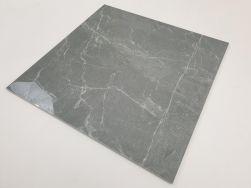 Płytki do salonu szare z białymi żyłami w połysku Pulpis Gris 75x75