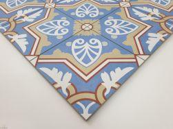 Niebieski Patchwork Aparici Altea Pinar Natural 59.2x59.2