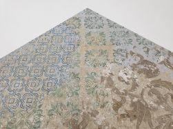 Płytki Aparici Bohemian Blend Natural 59.55x59.55 jak podniszczony dywan