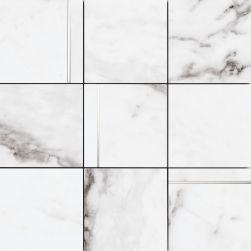 Peronda biała mozaika na ściane mozaika biały marmur 30x30 biały marmur łazienka kuchnia