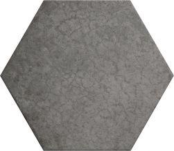 płytki heksagonalne szare matowe