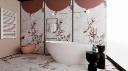 łazienka z Wanna wolnostojąca konglomeratowa SWING