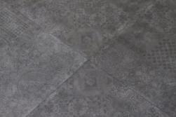 płytki grafitowe patchwork Icon Smoke Patchwork 60x60 Abitare