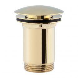 Korek do umywalki klik-klak złoty A706GL