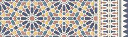 płytka rektyfikowana płytka ścienna aparici płytka dekoracyjna Alhambra Blue Rauda