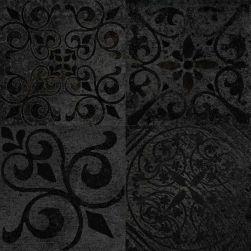 Porcelanosa płytka na podłoge ściane czarna płytka ze wzorem patchwork 60x60