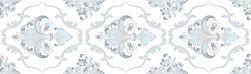 aparici płytka ścienna płytka dekoracyjna płytka rektyfikowana Astoria Blue Fleur aparici