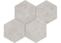 Basel Malla Hexagono Caliza 30x30 mozaika podłogowa