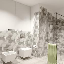 łazienka z Bidet wiszący Inglo