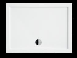 besco brodzik prostokątny biały brodzik 80x100