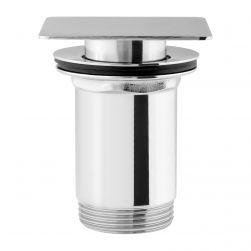 Korek do umywalki klik-klak chrom Q706CR
