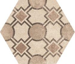 hexagon kafelki na ściane podłoge 17,5x20  matowe gresowe płytki do łazienki salonu kuchni
