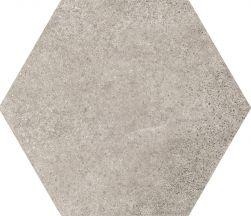 hexagon szary 17,5x20 matowy kafelki do łazienki salonu kychni płytki na ściane podłoge nowoczesna kalsyczna łazienka salon kuchnia