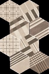 Hexatile Cement Geo Sand 17,5x20
