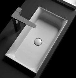 eto  umywalka prostokątna 60x33 umywalka łazienka ceramika 60x33